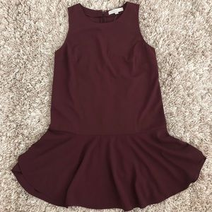 LOFT Dress / wine sleeveless / Size 6